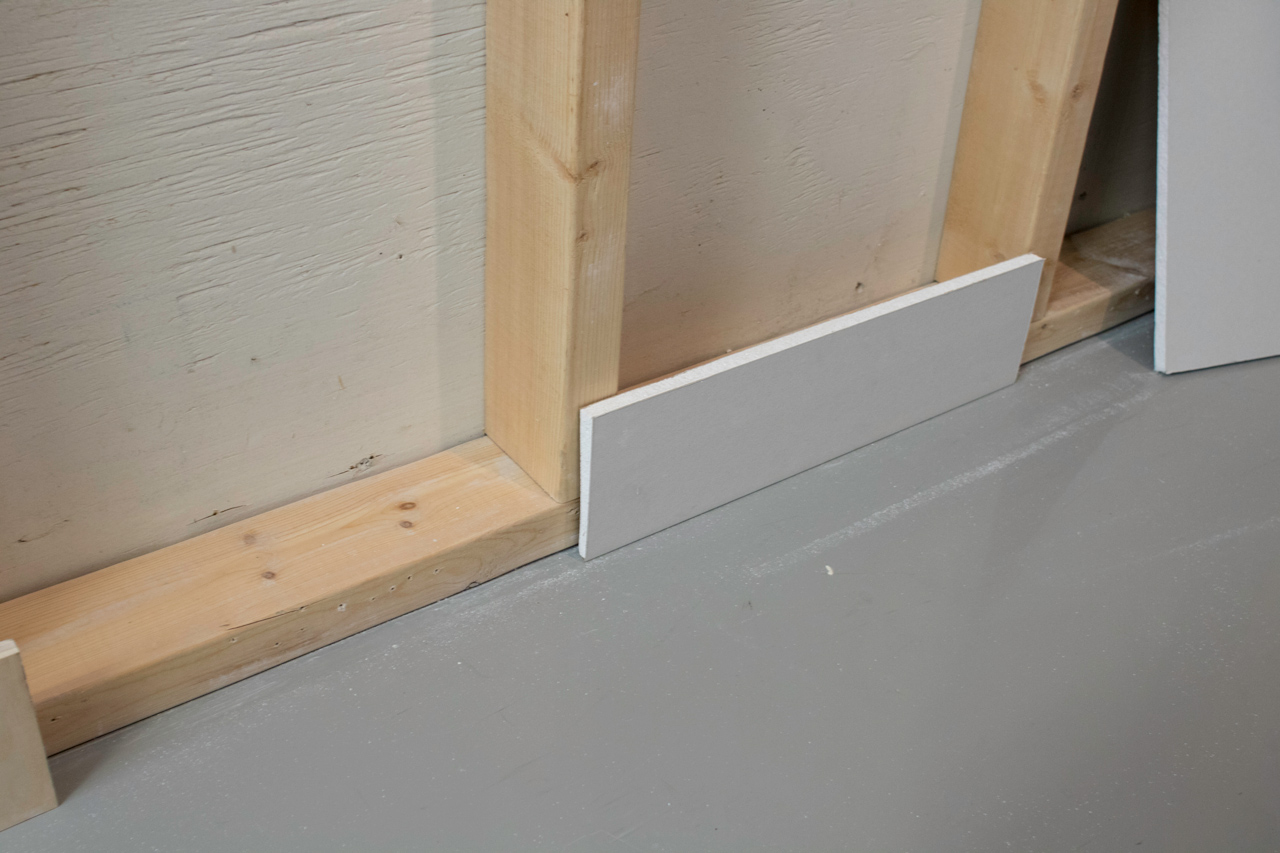 Create Flush Baseboards With Architectural L Bead Trim