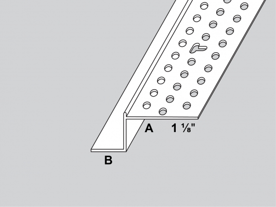 Architectural Z Shadow Bead Trim Tex Drywall Products