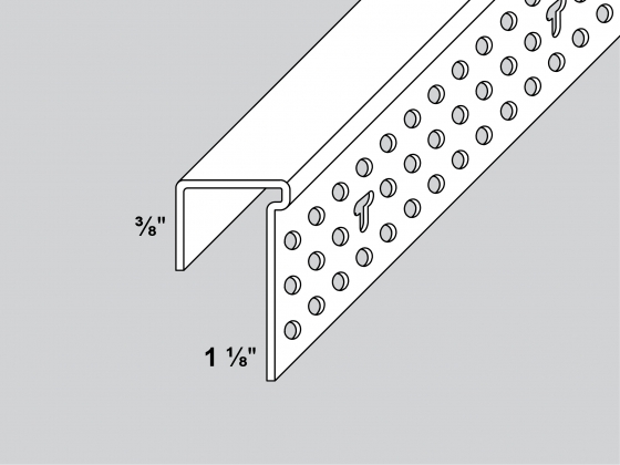 Commercial Drywall Thickness : J l beads trim tex drywall products