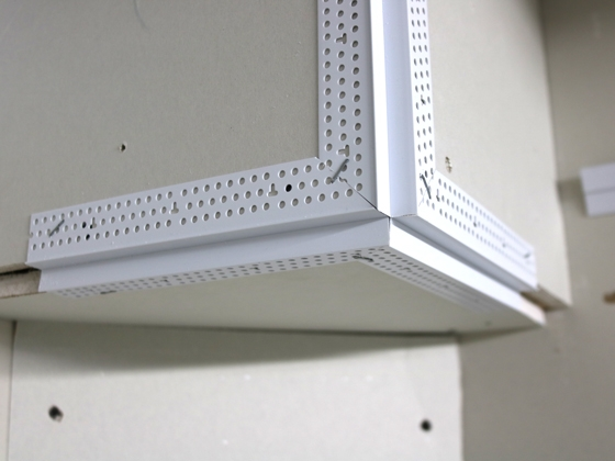Drywall Edge Bead : Reveal corner bead trim tex drywall products