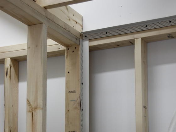 Sheetrock Trim Accessories : Truss backing angle trim tex drywall products