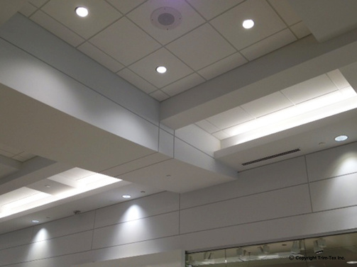 Drywall Trim Components : Reveal bead trim tex drywall products