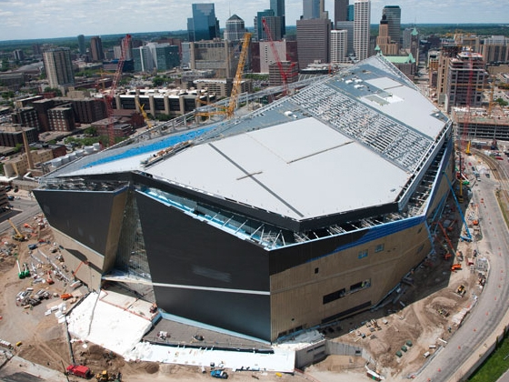 US Bank Stadium future home of the Minnesota Vikings. Photo Courtesy of Mortenson Construction.jpg