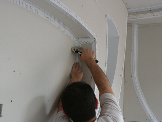 Inside Corner Bead Drywall : º inside corner bead archway trim tex drywall products