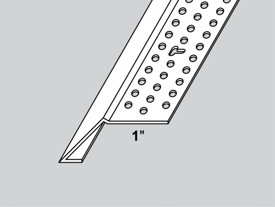 Multi Drywall Layers : Chamfer stop trim tex drywall products