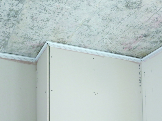 Inside Corner Bead Drywall : Wall mounted deflection bead trim tex drywall products