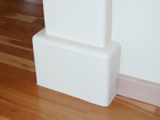 Rounded Corner Bead : Quot bullnose corner bead and archway trim tex drywall