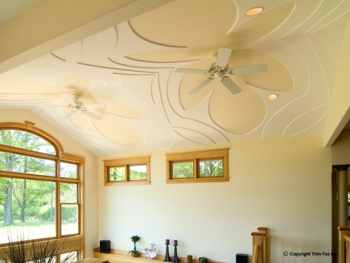 Decorative ceilings trim tex drywall products for Decorative ceilings