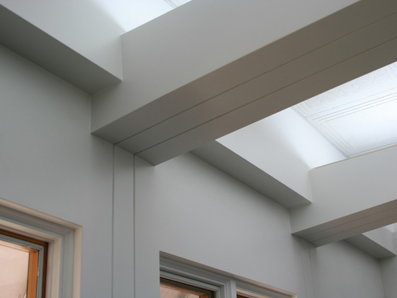 Drywall Trim Products : Custom architectural reveal intersections trim tex